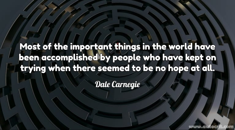 Quotes About Writing - Dale Carnegie