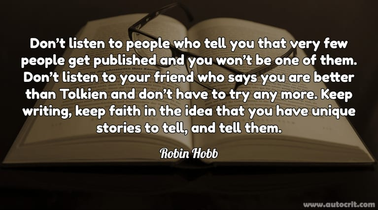 Writer Quote - Robin Hobb