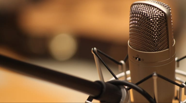 Microphone for recording Screenwriting Podcasts
