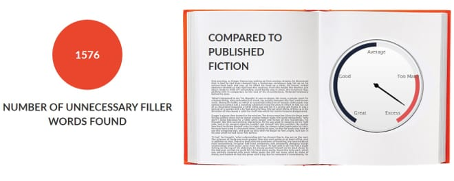 Hunger Games Unnecessary Filler Words Meter