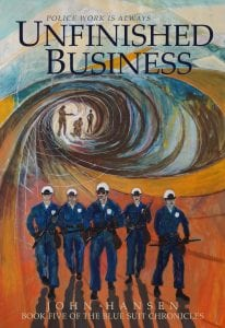 Unfinished Business The Bluesuit Chronicles Book 5 Cover Art