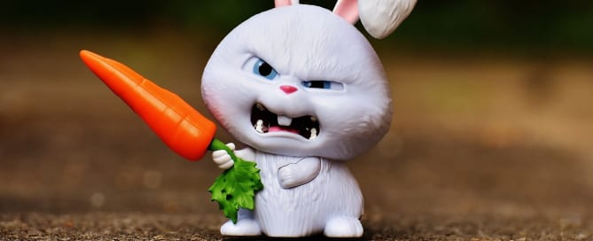 Angry rabbit with carrot! Creating a villain readers will love to hate