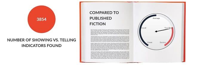 The Martian - AutoCrit Showing vs. Telling Reading