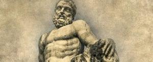 Greek God statue: Dodging the Deus Ex Machina