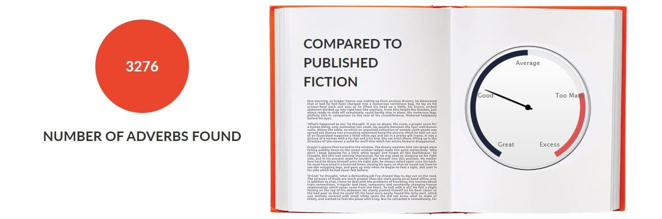 Outlander by Diana Gabaldon - Adverbs Summary