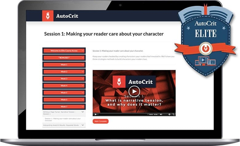 Online Book Editor for Fiction Writers - AutoCrit Book