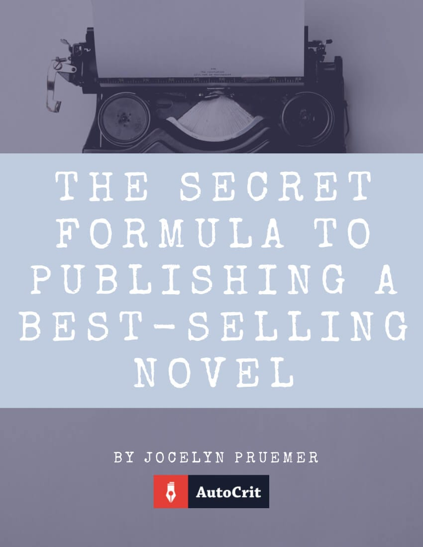 Ebook cover: The Secret Formula to Publishing a Best-Selling Novel, from AutoCrit