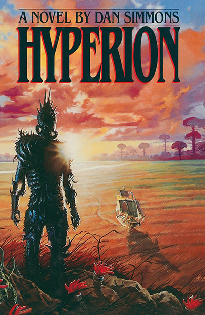 Book Cover: Hyperion by Dan Simmons