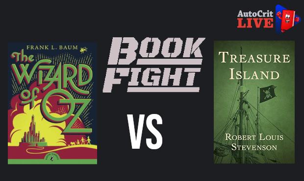 Book Fight - Wizard of Oz vs Treasure Island