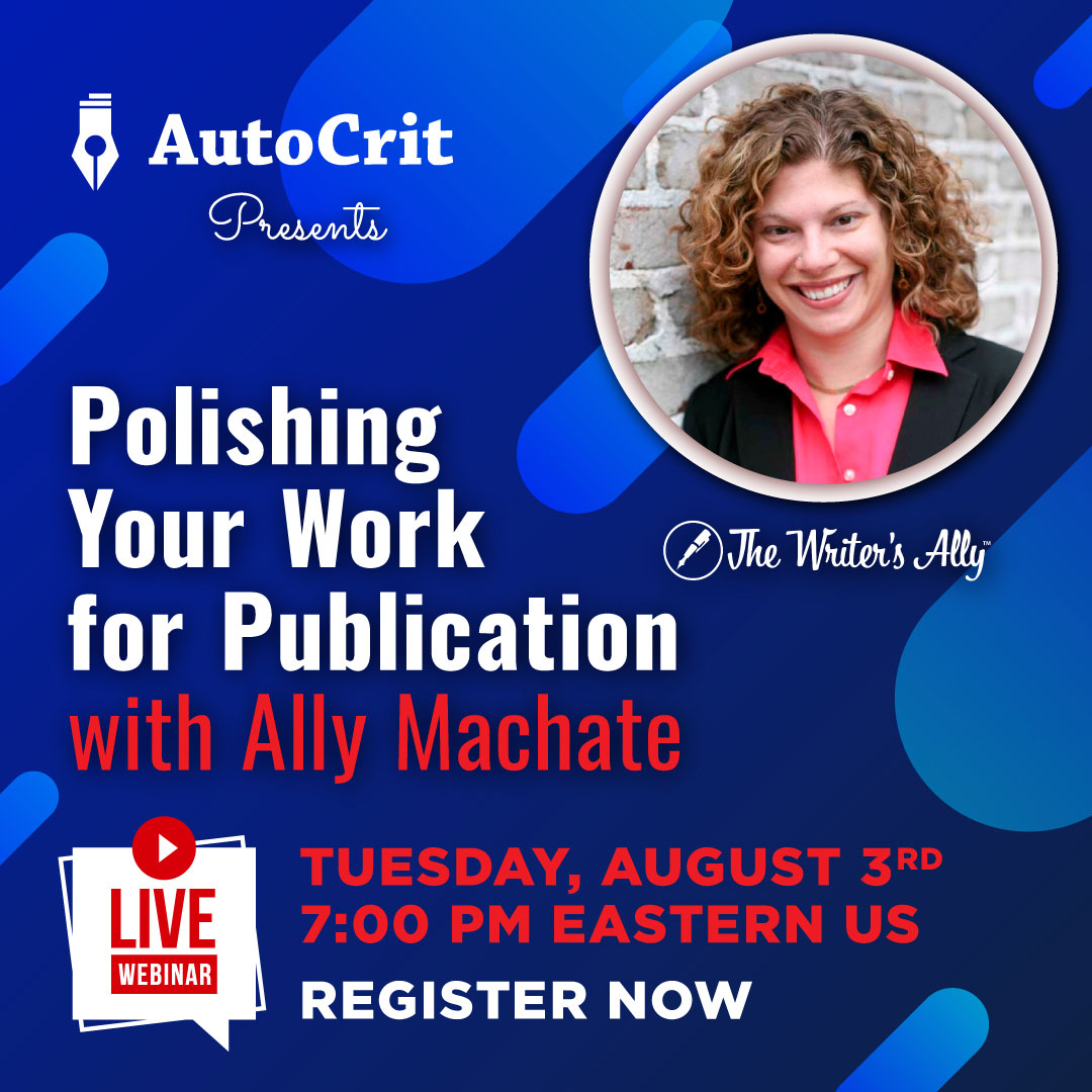 Promo Image: Publishing Your Work for Publication with Ally Machate