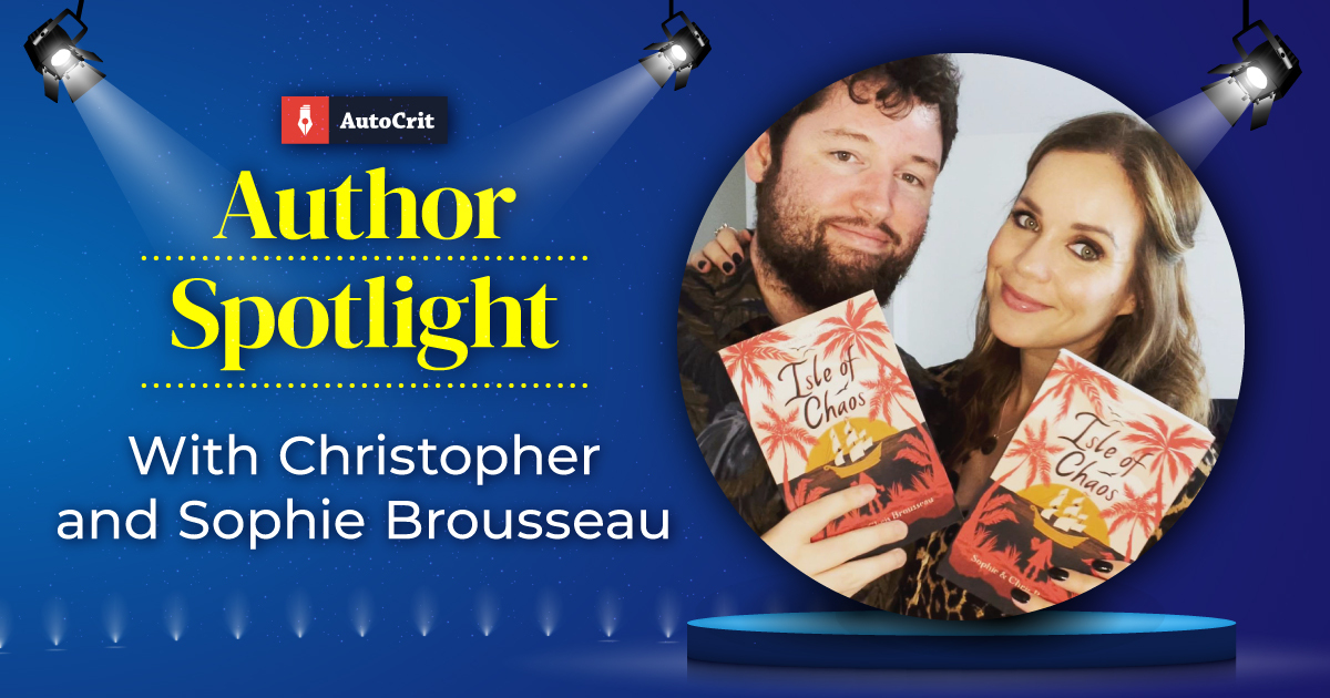 author feature chris and sophie brousseau